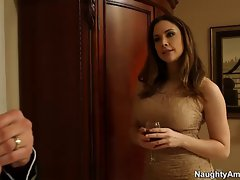 Chanel Preston gets slit fondled and banged by married pecker
