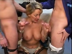 French Attractive mature With 2 18yo Penises