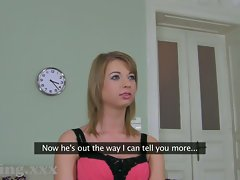 Casting HD Filthy Girlfriend cheats behind BFs back