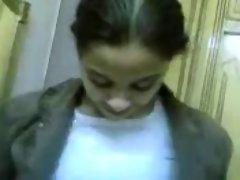 arab hijab young woman banged rough