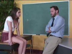 Raunchy Teacher And A Slutty Cunt
