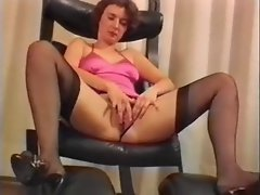 Huge toy for amateur austrian chick