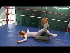 Sensual Spandex Wrestling