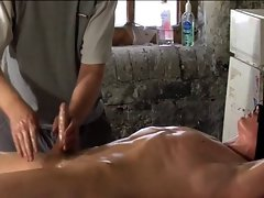 BDSM slave gay fellow tickled & milked schwule jungs