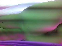 Lewd babe solarium