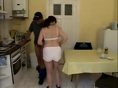 Married woman Bangs Plumber by snahbrandy