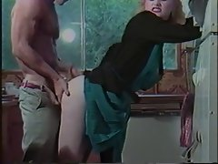 Vintage bitch receives it from behind