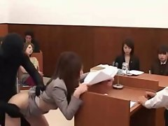 Those Wild Seductive japanese - Lady Lawyer Laid By Invisible Shadow