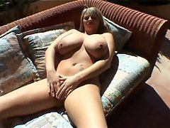 Kelly Kay plays with herself