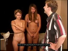Bodage With Two Slutty russian Teenage Lasses