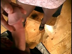 Sensual Pantyhose Footjob