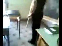 Italian Students Fondle Their Teacher