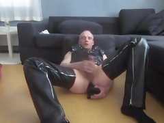 finnish kinky leather fag