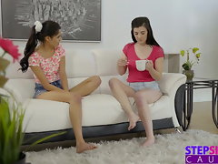 Hippy Step Sista And Tempting Friend Need Jizz For Tea S6:E9