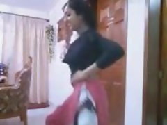 seductive indian nymph dancing sexyly