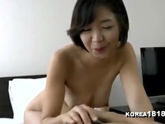 korean cutie in towel records jav