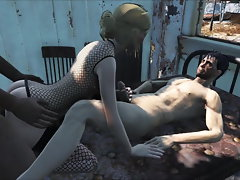 Fallout 4 Katsu Crazy threesome action
