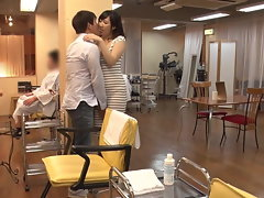 JAV Temptation Salon Mizuna Wakatsuki risky fuck-fest Subtitled
