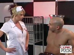 Top heavy Nurse Brooke Haven