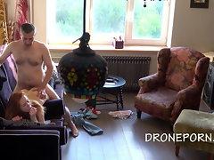 Gorgeous 19yo Lassie Hardcore Fucking - Hidden webcam