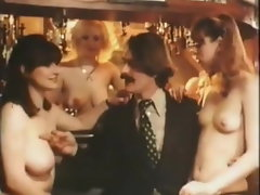 Crazy threesome action In The Pub