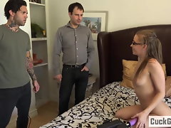 Norah Nova bangs her husband's friend