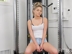 Fit18 - Athena Faris - 50kg - Lithe Raunchy teen Gets Creampied