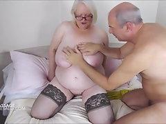 Sally's intimate oily rubdown