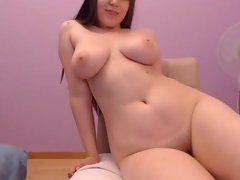 Very hairy Fat Girl Exposes her assets