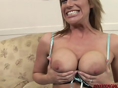 Lewd dirty wife gets first-ever bbc and squirts every where