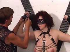 Slave, suck my dick!