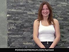 HER LIMIT - Ginger-haired slutty girl Eva Berger in erotic porn flick