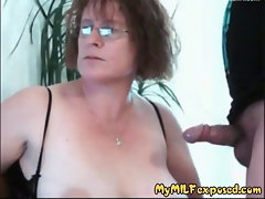 My Cougar Exposed bushy cunt mature babe playing with playthings