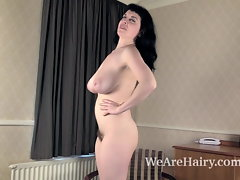 Suzie puts on a sexual striptease for all to luxuriate