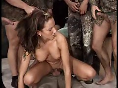 GERMAN SLUT GANGBANGED 02