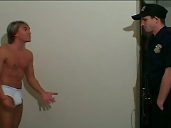 Blond gay stud sucks and gets fucked hard