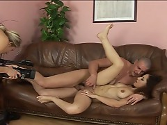 Lovely brunette slut for sizzling amateur fucking