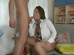Babe gets fucked in the ass in free sex movie