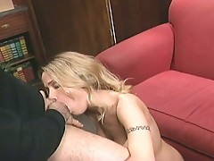 Busty blonde slut huge cock ass invasion