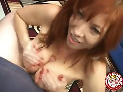 Hot dick action by Britany