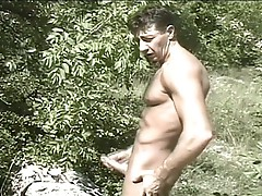 Outdoors cock hunting