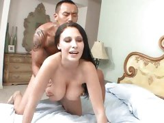 Saucy slut Bella Blaze shagged hard from behind
