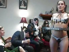 Charley Chase is humiliated in front of a group