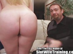 Jenna's Cuckold Husband Eats Dirty D's Fresh Cream Pie