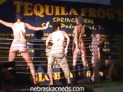 Tequila Frog's Wet T-Shirt Contest with hot babes