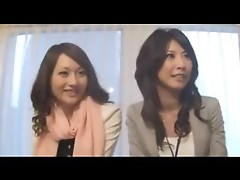 Sexy Japanese office lady banged hard