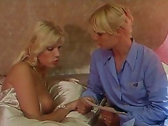 Go back in time for a fun retro sex scene