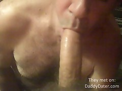 DaddyDater Emptying my Balls in an Older Mans Mouth