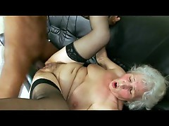 Black doctor fucking horny old lady