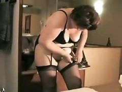 Horny aunt and uncle have a fuck